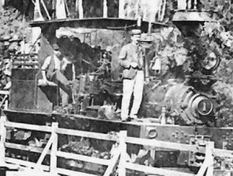 Lima Locomotive Works Drawings Locomotive at Work